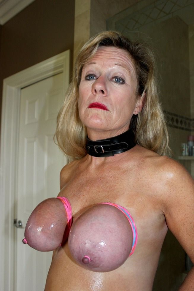 Big tit bondage sex