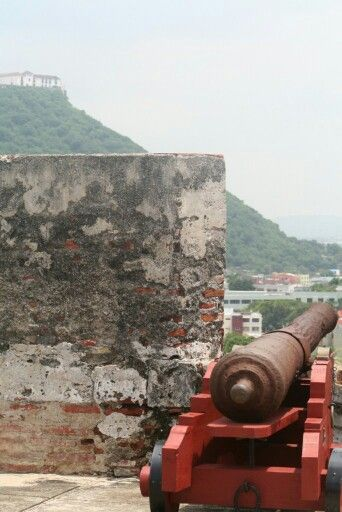 Castillo de San Felipe.  Cartagena de Indias. 2011 Foto @alejo_ib