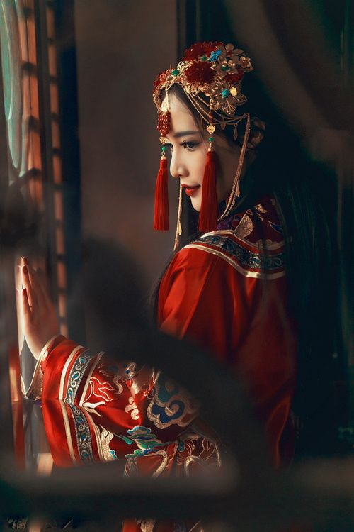 最美中国嫁衣,美醉了!♬