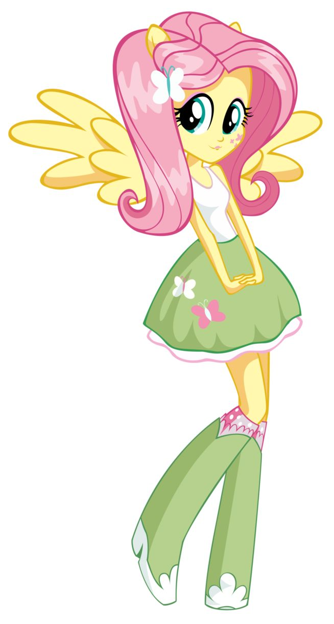 Mlp Equestria Girls Fluttershy Girl By