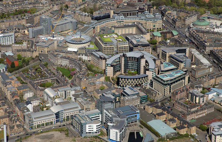 3d computer generated imagery for Atria office development in Edinburgh, UK. www.5sqi.com  #architectural #visualization #3d #animation #rendering #cgi #landscape