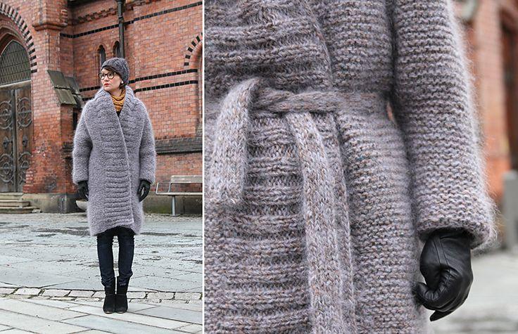 Ravelry: Outer Coat / Uttapåjakke by Anna & Heidi Pickles
