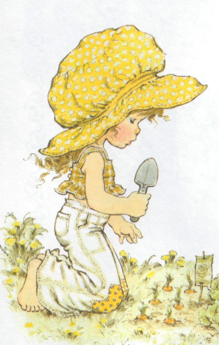 Use to love Holly Hobbie, reminds me of her..