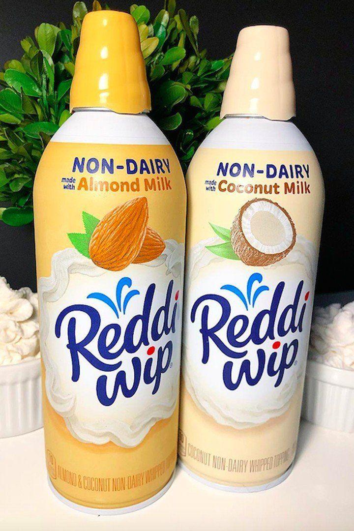 Reddi Wip S New Coconut Milk Whipped Cream Is A Dairy Free Dream Come True Dairy Free Dairy Free Dessert Coconut Milk Whipped Cream