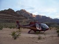 Grand Canyon - tour de luxe en hélicoptère avec pique-nique au champagne