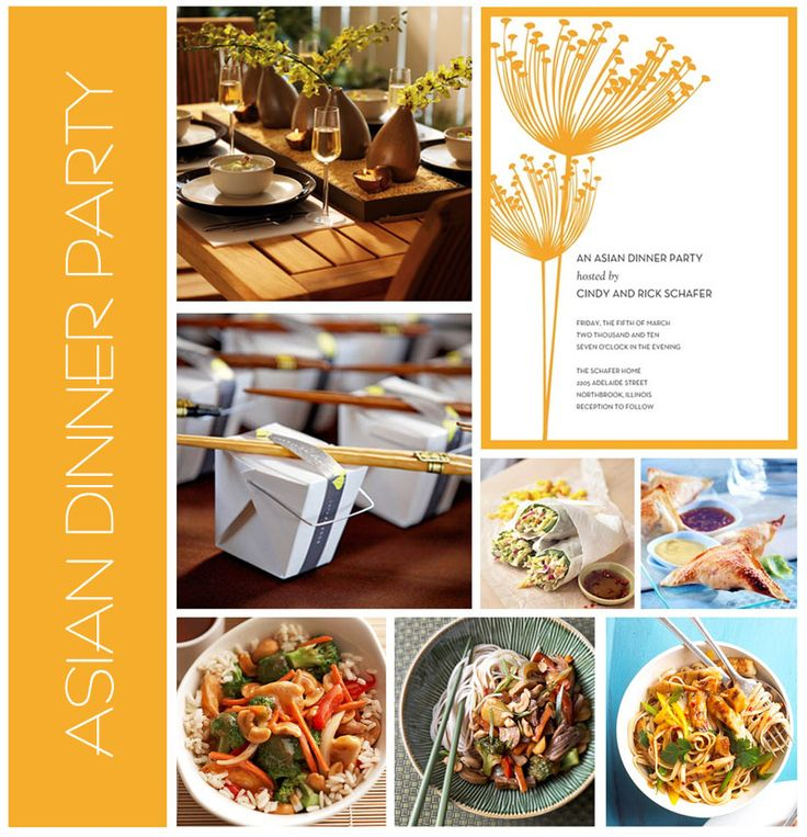 45 best images about asian dinner party ideas and recipes - Chinese dinner party ideas ...