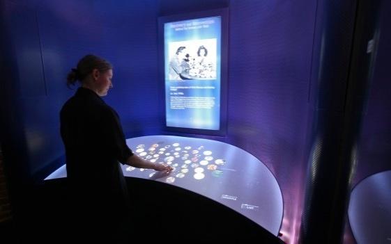 Disney interactive exhibits