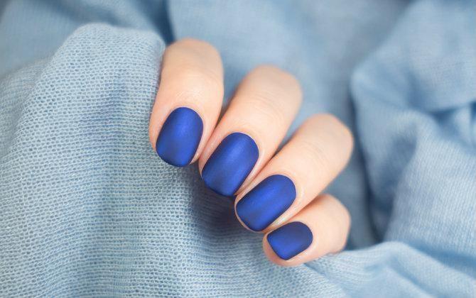Красивый Синий маникюр [50 фото] — Идеи Дизайна ногтей ...