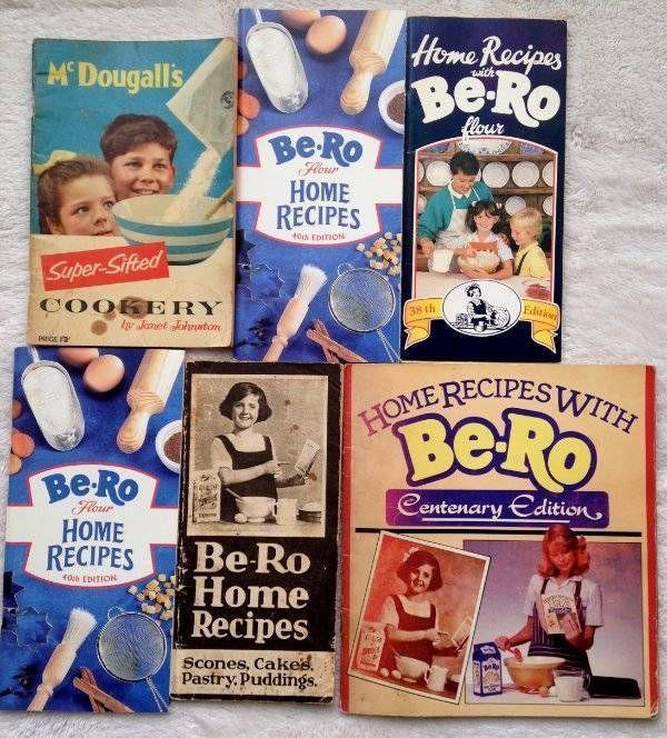 6x Rare Vtg BeRo Flour 18th 38th 40th Centenary Edition