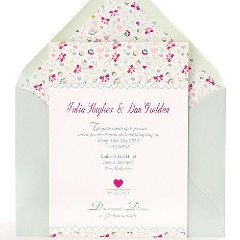 Invitación de boda Toscana