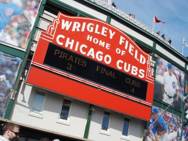Wrigleyville: Home of the Chicago Cubs...and me — LL World Tour