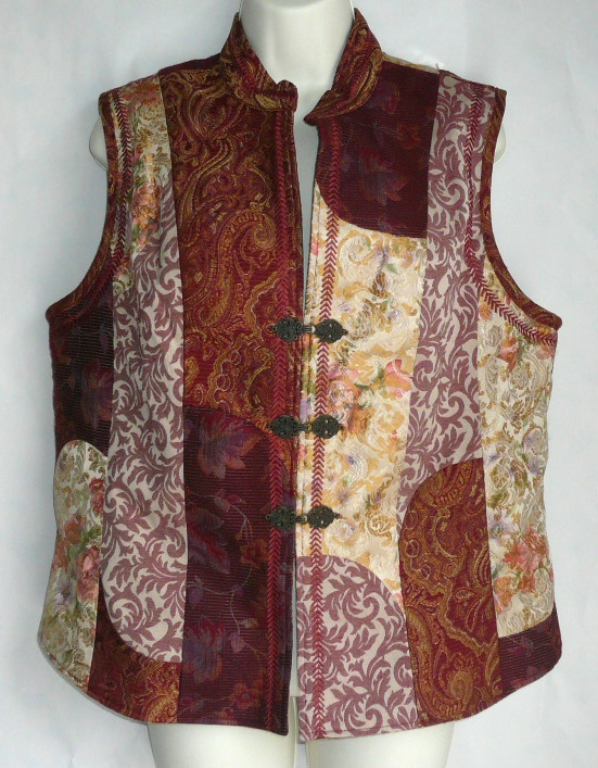 Beautiful patchwork vest