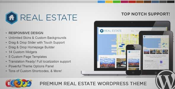 Download and review of WP Pro Real Estate 3 Responsive WordPress Theme, one of the best Themeforest Real Estate themes