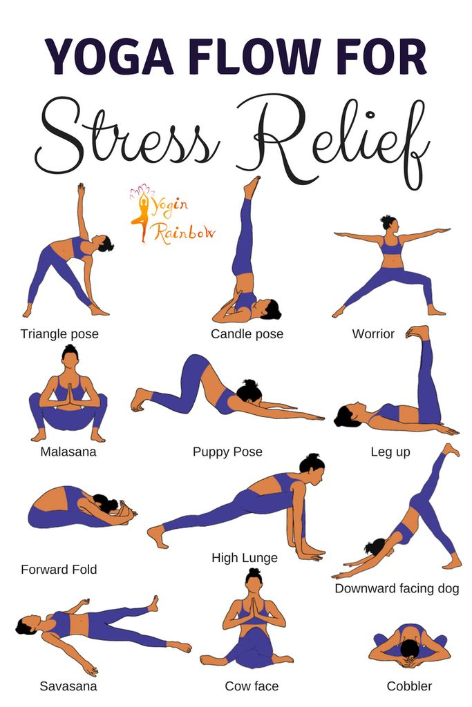 16 Yoga Poses for Stress Relief