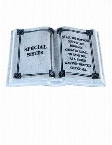 Special Sister Grave Ornament - To Have You As A Sister Is the Greatest Gift Of All.