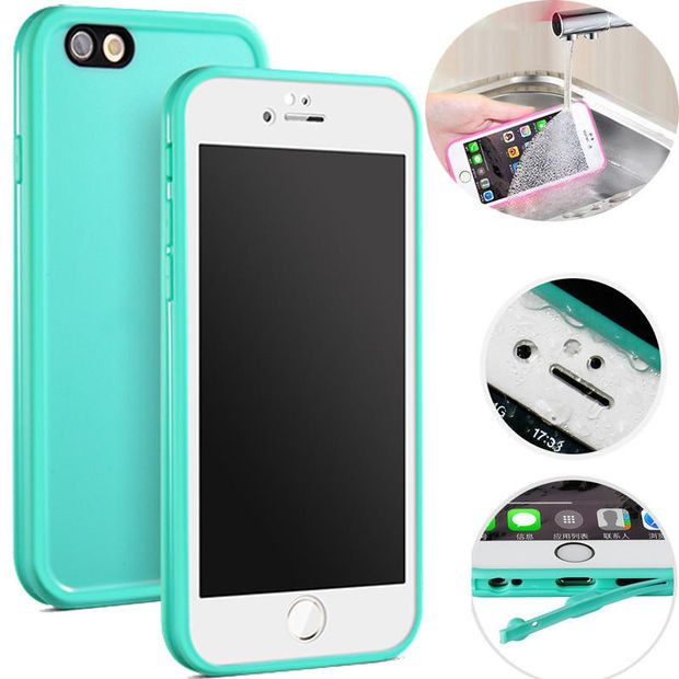 Summer Beach Holiday Waterproof iPhone Cover Dustproof iPhone 5s 6 6s Plus Case Free Shipping
