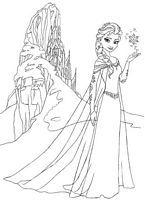 do wydruku kolorowanki Kraina Lodu Frozen Disney - nr obrazka 36