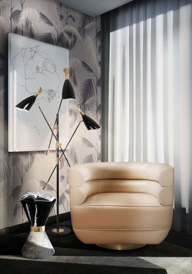 Learn more about midcentruy modern style with Essential Home! Find here the upholstered armchairs, dining chairs or bar chairs and sofas, the most luxurious tables, sideboards, coffee tables, consoles, side tables. writing desks, cabinets, lamps, shelves, mirrors and rugs you were looking for!