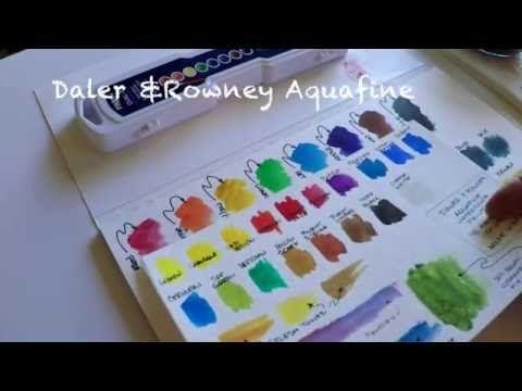 Prang Watercolors - YouTube
