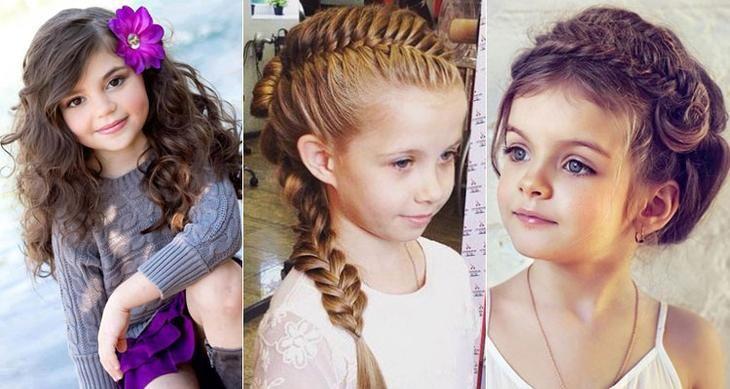 Косы для маленьких девочек