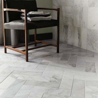 BrickTiles 30x10cm Diamond Sawn, Honed - East Hampton Marble - Wall & Floor Tiles   Fired Earth