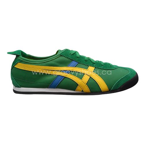 31e85cf2d819d Asics OT Mexico 66 Amazon Green/Yellow HL7C2-8504 #onitsukatiger ...