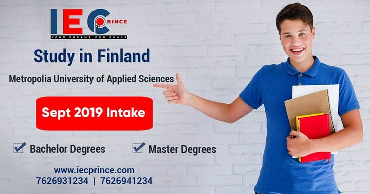 Study In Finland 👉 September 2019 Intake Available ...