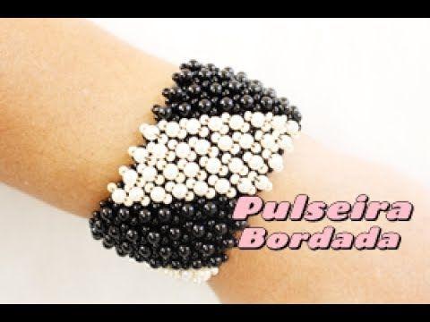 Bordada Bracelet - Embellished Netting ~ Seed Bead Tutorials