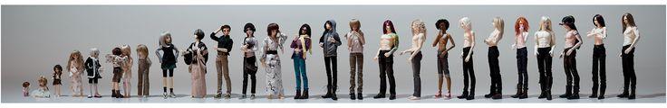 Ilustracordoba: Ball-Jointed Dolls; grandes modelos fotograficas