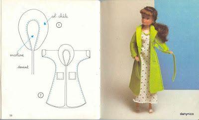 Las chorradikas de Laury: Bata y camisón para barbie