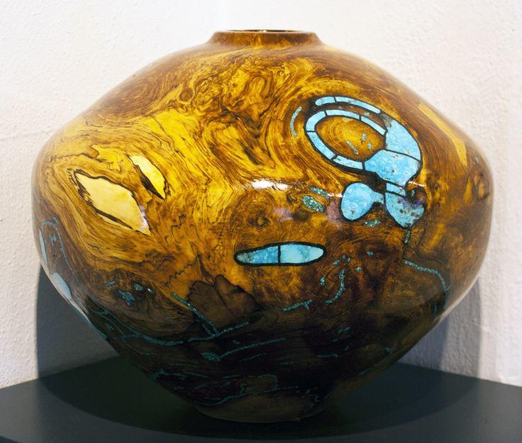 "Aspen Burl by Jimmy Cook 13"" X 16"" X 16"" Ventana Gallery"