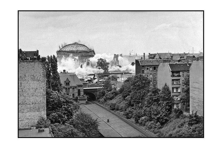 Gaswerk Dimitroffstraße Sprengung 28.07.1984 - Danziger Straße