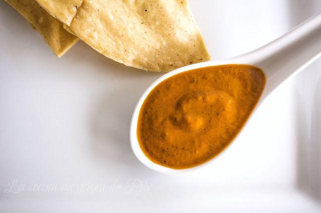 La cocina mexicana de Pily: Exquisita salsa de la mamá de Toño