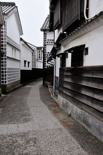 The Historical Bikan District. Kurashiki City, Okayama #japan #okayama