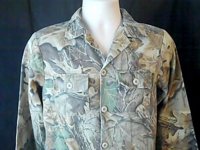 Camo Gear Vintage Boys Hunting Camouflage Shirt Size 14 Cotton Polyester  USA #CamoGear #Everyday
