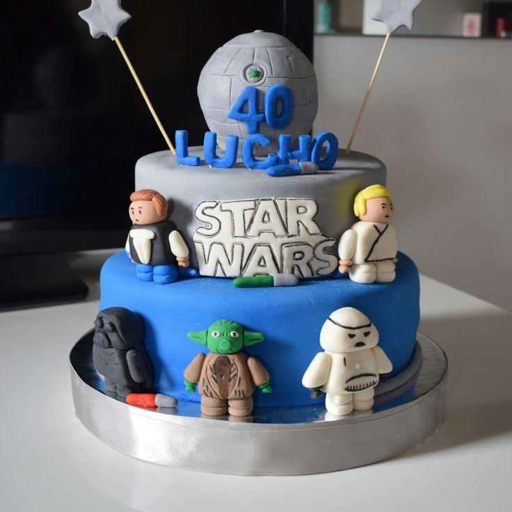 Torta Starwars Diseño en Fondant