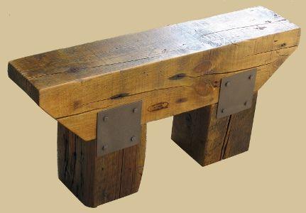 Patio Concrete Bench