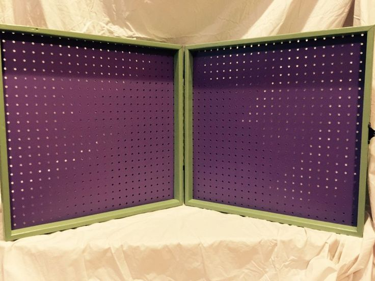 Portable Vendor Scentsy Paparazzi Jewelry Pegboard Display
