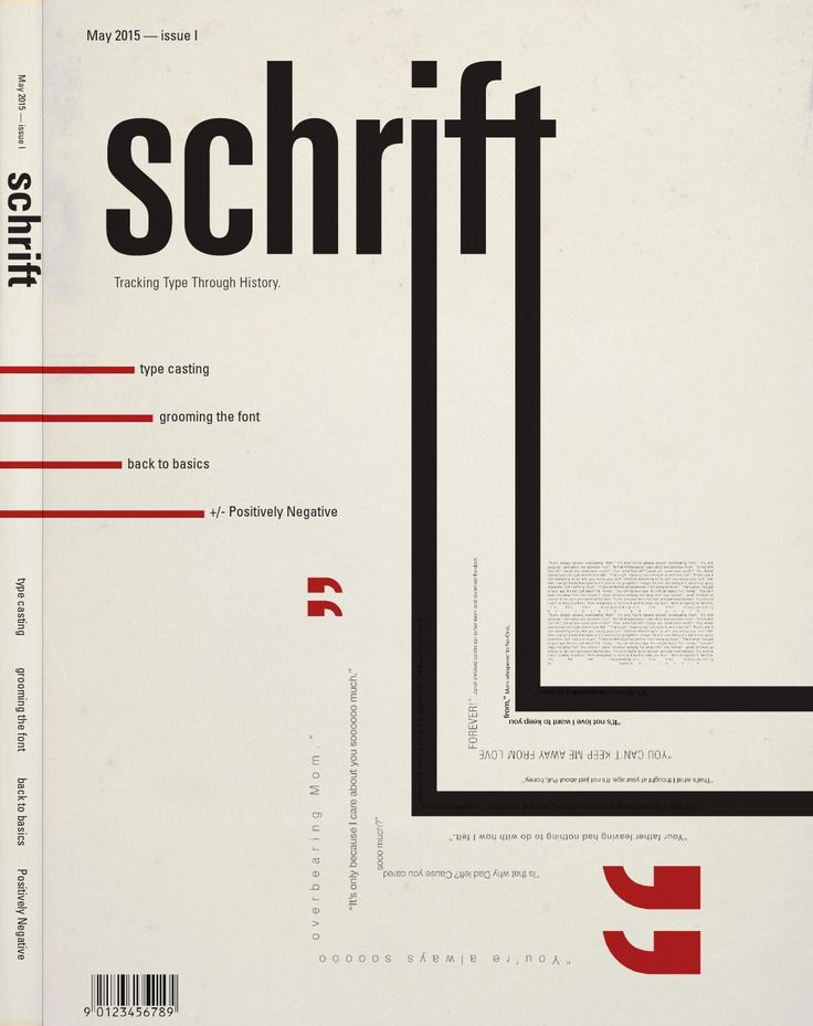 schrift magazine  Flagler College Typography magazine