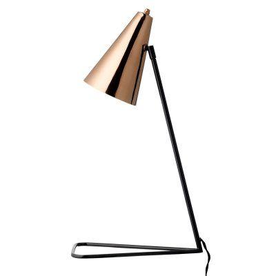 Copper bordslampa från Bloomingville. En rak och enkel design på en lampa som med sin kopp...