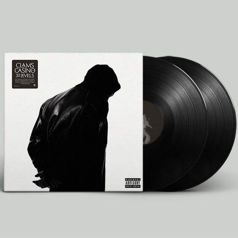 CLAMS CASINO 32 LEVELS DOUBLE LP (Black)