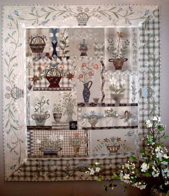 This is absolutely the most beautiful quilt I have ever seen!