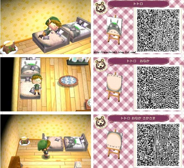 26 Best Cute Totoro Acnl Qr Codes Images On Pinterest