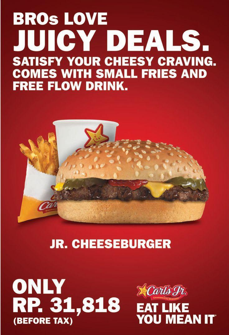 Juicy Deals for Jr Cheeseburger