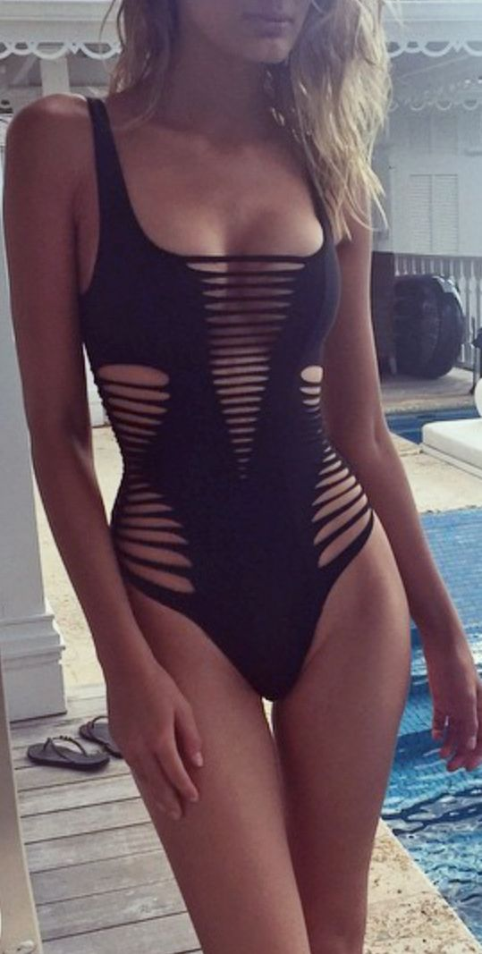 Edgy one piece