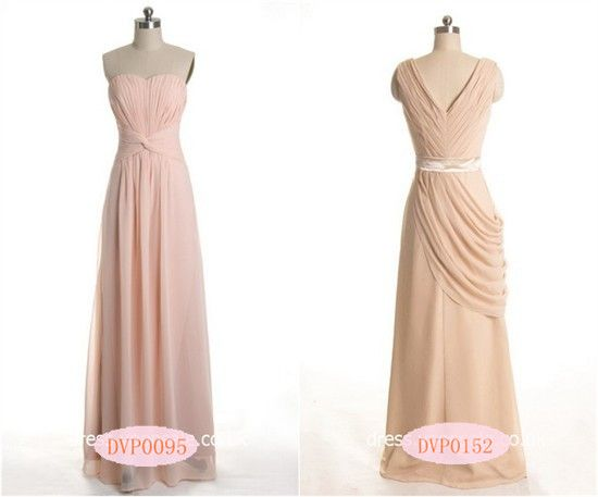 Cheap Wedding Gowns Toronto: 80 Best Images About Peach And Pink Bridesmaid Dresses On