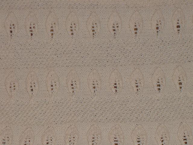Ravelry: tl208's seed stitch leaf afghan