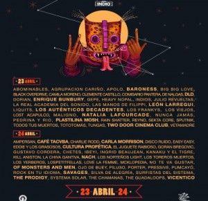Cartel oficial del Vive Latino 2016