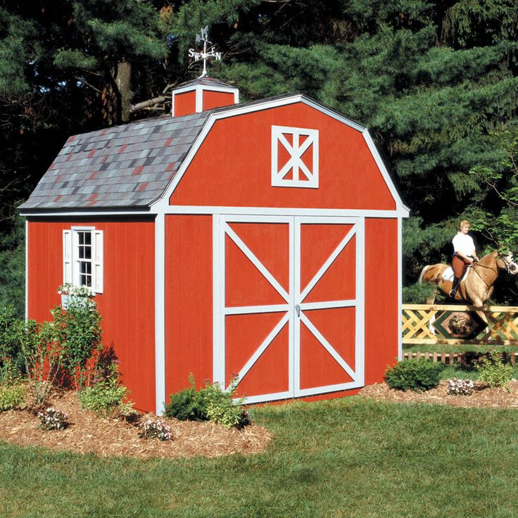 10 by 14 Storage Shed