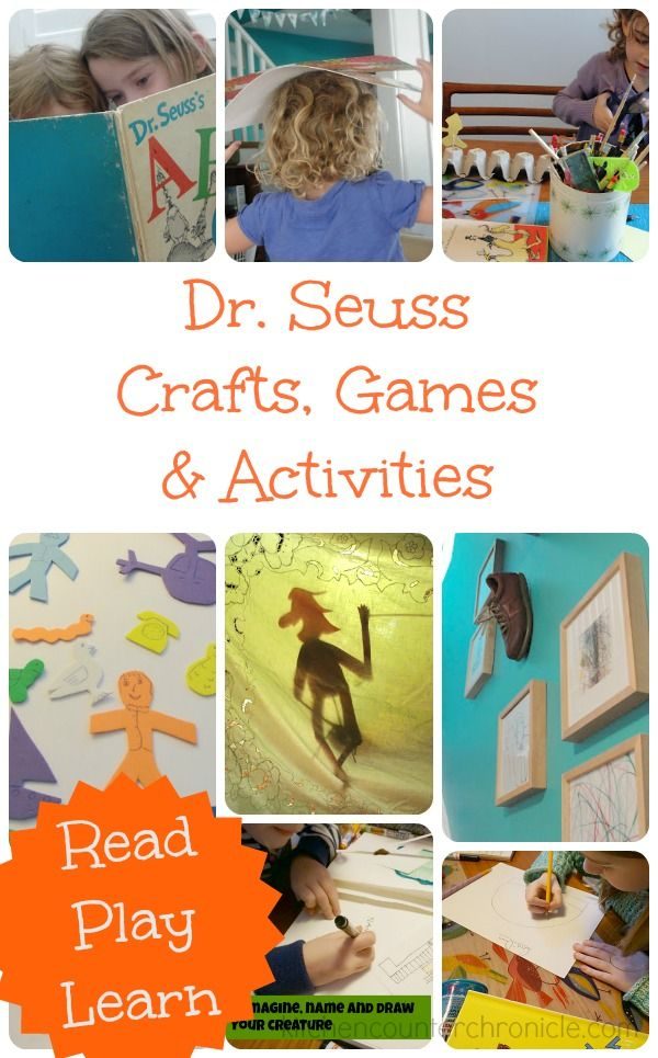 17 Best Images About Dr. Seuss Inspired Ideas On Pinterest